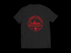 T-Shirt Design für die deutsche Stadt Stuttgart