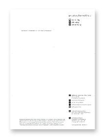 Neues Briefpapier-Design für Production Office
