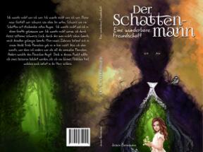 Buchcover für Erstveröffentlichung eines Fantasyromans