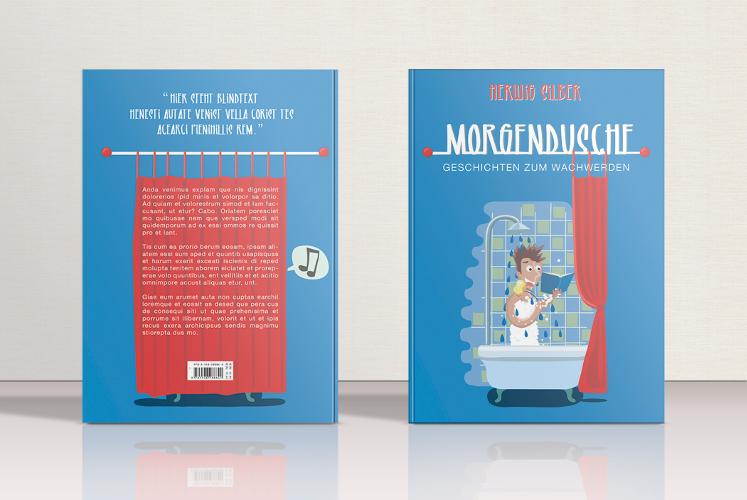 Kurzgeschichten suchen Buch-Cover Design