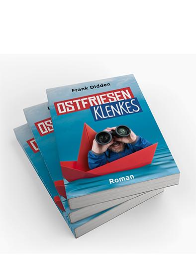 Buchcover-Design für Roman - Buchcover-Design Beispiel
