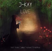 CD-Design für Musik-Album des Sängers J-Kay