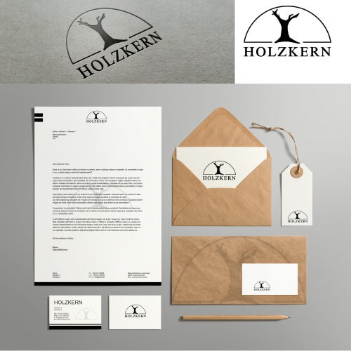Holzdesign Firma sucht stilvolles Corporate Design