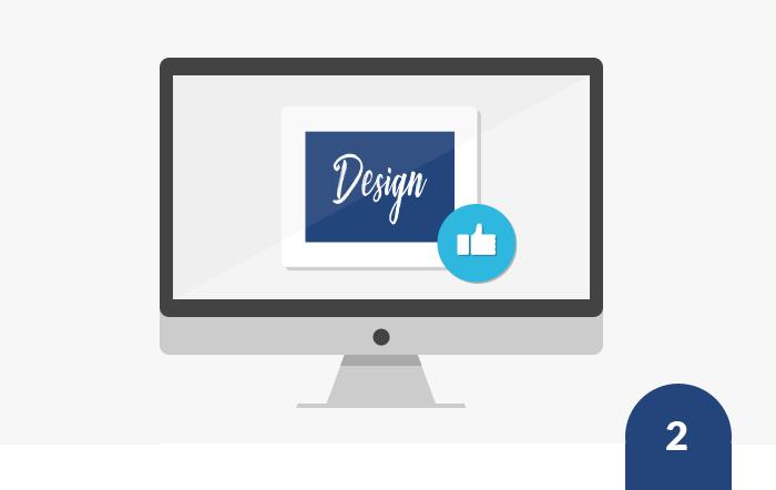Design hochladen, auf Feedback reagieren
