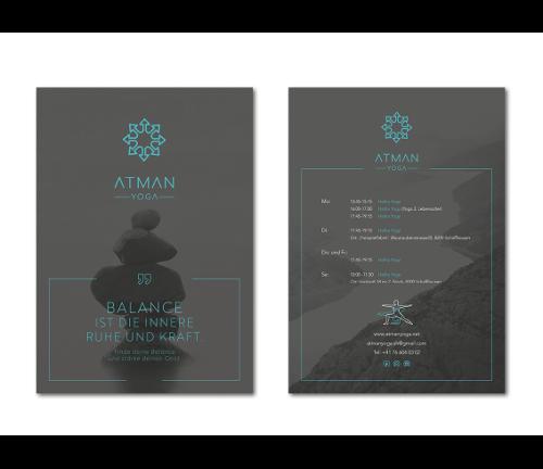 Flyer-Design für Yoga-Studio gesucht
