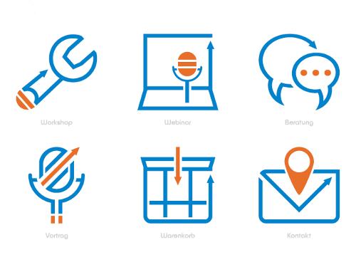 Kanzleiberaterinnen suchen Icons