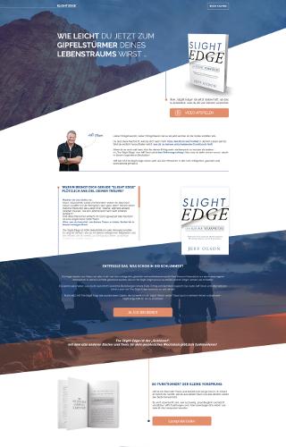 Verlag für Erfolgsliteratur sucht Landing-Page Überarbeitung