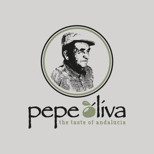 Spanisches Olivenöl Pepe Oliva sucht Logo