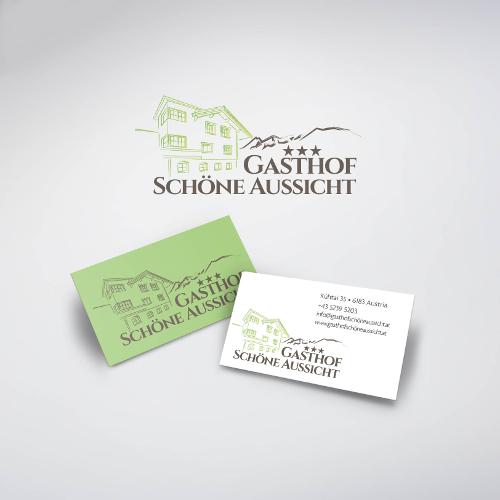 Gasthof sucht ansprechendes Logo und Visitenkartendesign