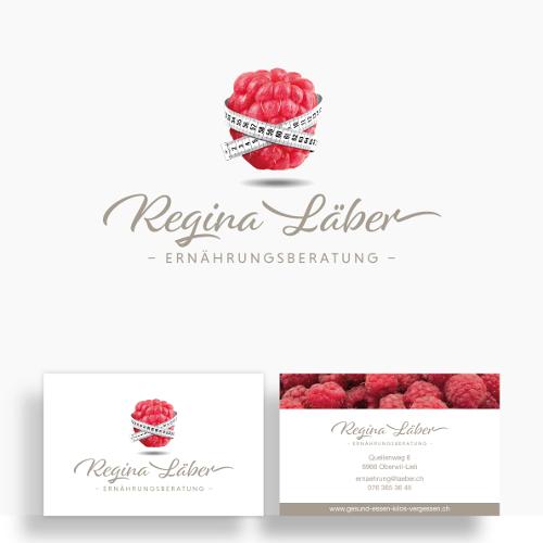 Ernährungsberatung Regina Läber sucht Logo & Visitenkarte