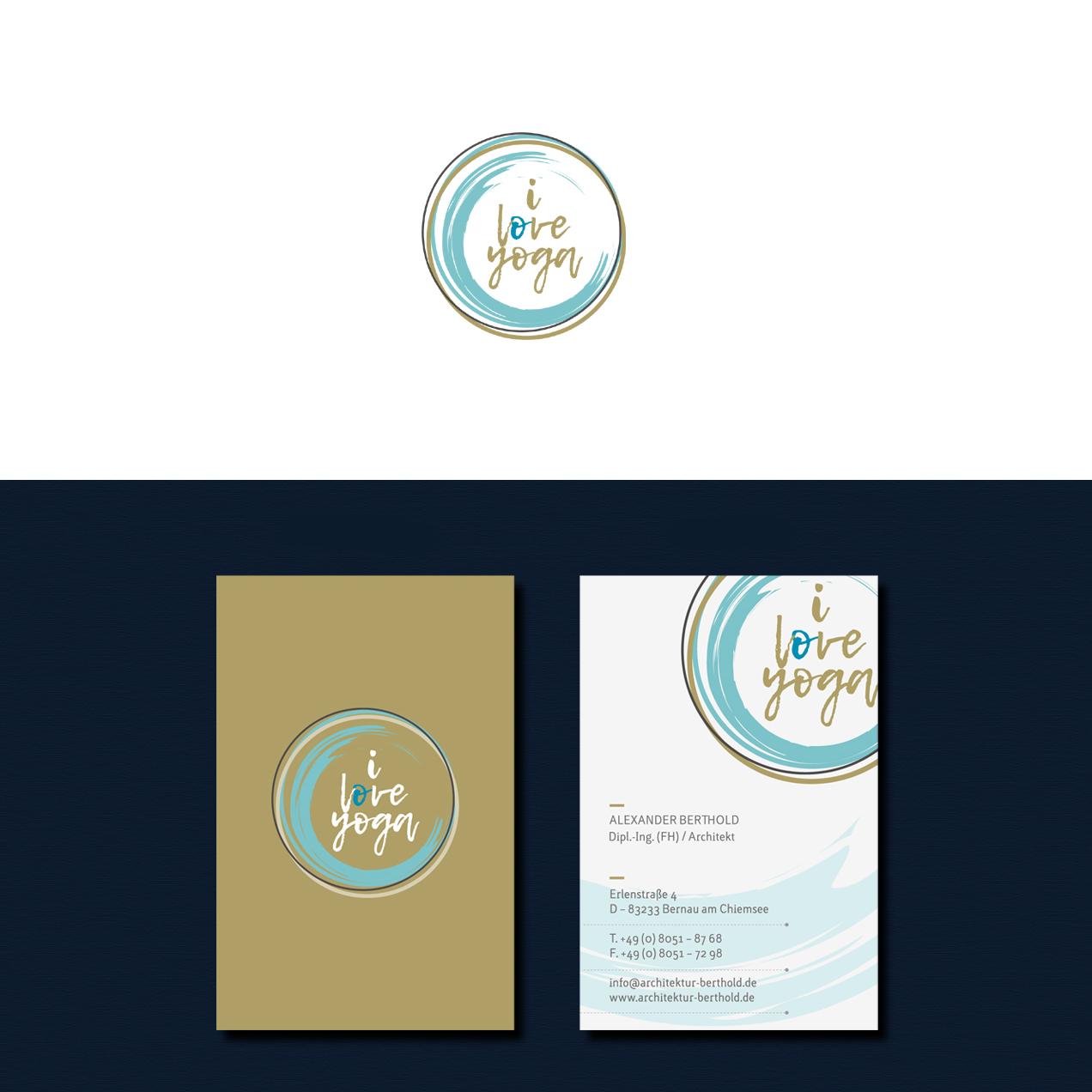 Yogalehrerin sucht Logo & Visitenkartendesign