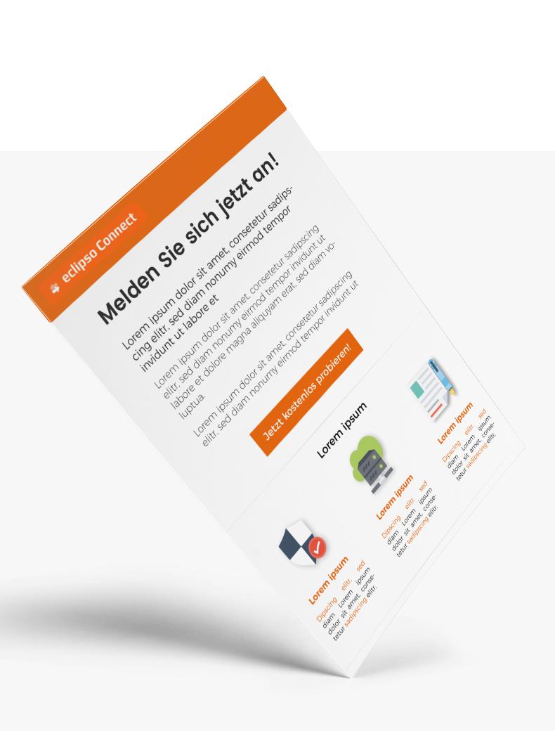Newsletter-Design für Eclipso - Newletter-Design Beispiel