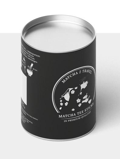 Verpackungsdesign für Matcha - Verpackungsdesign Beispiel