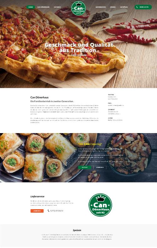Restaurant Can Dönerhaus sucht responsives Webdesign